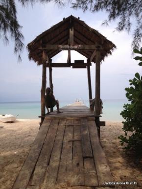 Sunset Beach Koh Rong Samloem